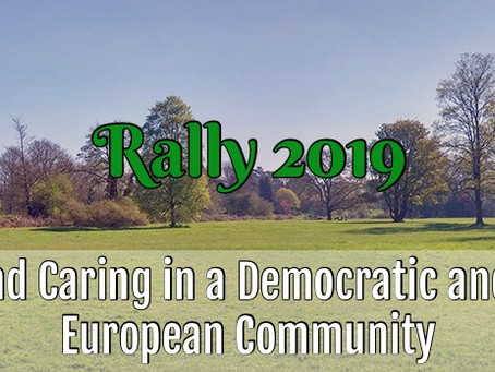 Call for Participants! European Youth Rally in England!