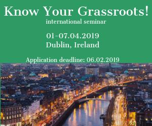Call for Participants! International Seminar in Ireland!