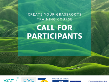Create Your Grassroots! Call for Participants :)
