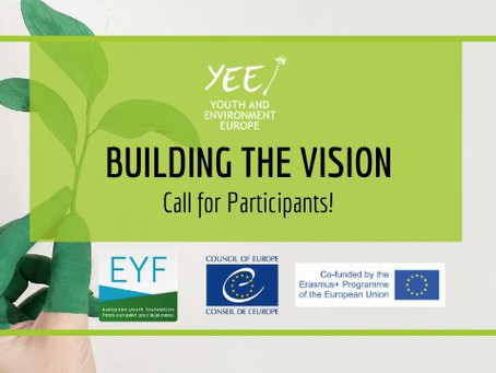 "Call for Participants! Online Training Course ""Building the Vision""!"