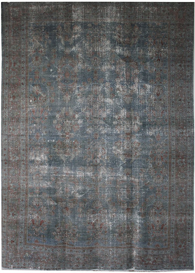 """Hand Knotted Antique Mahal Rug - 13'3"""" x 9'0"""""""