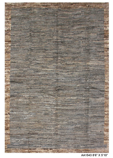 """Hand Knotted Modern Moroccan Rug 5'10"""" x 8'6"""""""