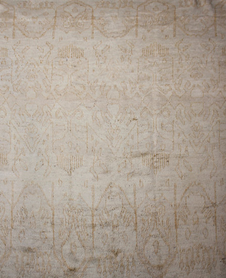 """Hand Knotted Ikat Rug - 9'8"""" x 12'4"""""""