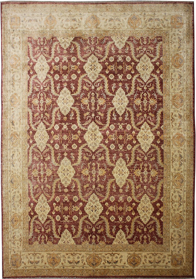 """Hand Knotted Sultan Abad Rug    9'6"""" x 11'0"""""""