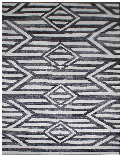 Hand Knotted Bamboo Silk Rug AA1573 10' x 14'