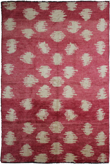 """Hand Knotted Ikat Rug - 8'2"""" X 10'10"""""""