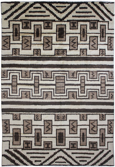 """Hand Knotted Navajo Rug  - 6'0"""" x 8'9"""""""
