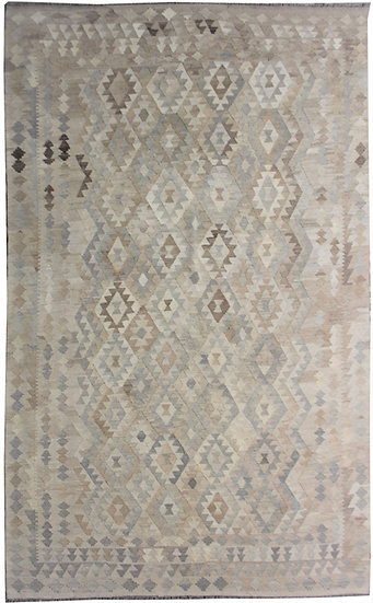 "Hand Knotted Kilim - 6'10"" x 9'7"""