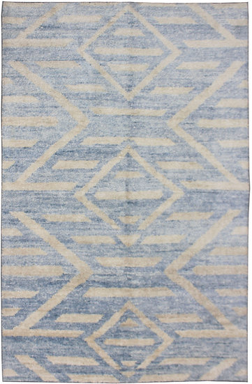 "Hand knotted environmentally friendly Bamboo and silk rug - 9'0"" x 12'0"""