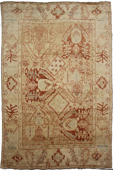 """Hand Knotted Fine Oushak Rug -   9'5"""" x 12'0"""""""