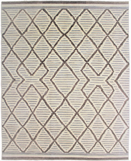 Hand Knotted Navajo Rug- 10′4″ × 12′1″