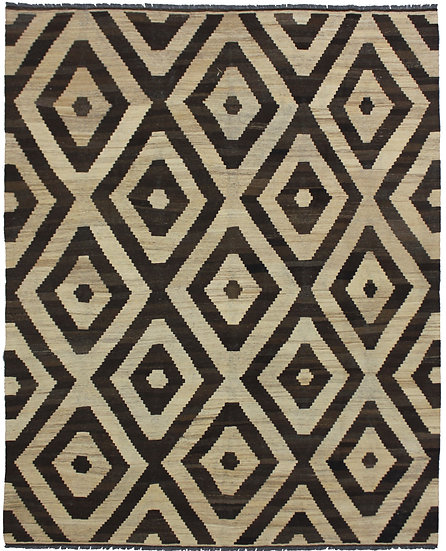 "Hand Knotted Modern Kilim 10'6"" x 13'4"""