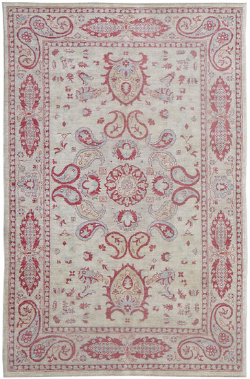 "Hand Knotted Sultan Abad Rug 5'0"" x 7'9"""