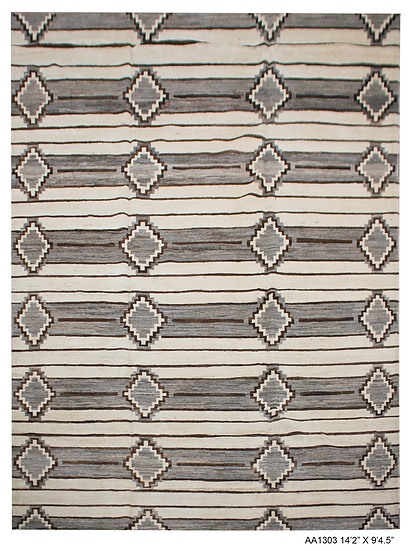 "Hand Knotted Navajo Rug   9'4"" x 14'2"""