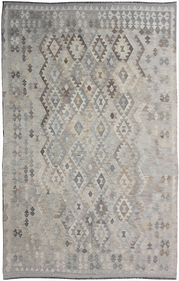 """Hand Knotted Kilim- 6'11"""" x 9'6"""""""
