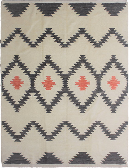"Hand Knotted Navajo Rug - 7'10"" x 9'10"""