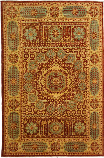 """Hand Knotted Mamlook Rug  - 8'6"""" X 6'1"""""""