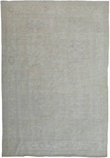 "Hand Knotted Fine Oushak Rug - 11""11"" X 8'11"""
