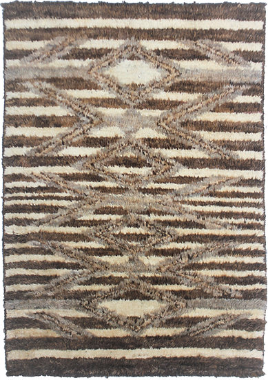 """Hand Knotted Navajo Rug - 6'0"""" X 4'2"""""""