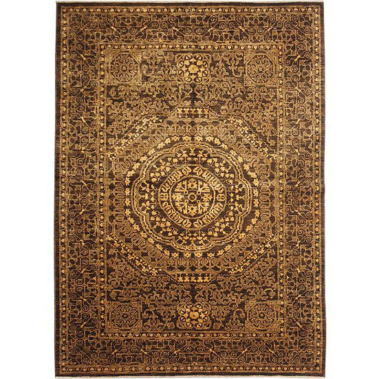 "Hand-Knotted Mamlook Rug - 6'3"" x 4'8"""