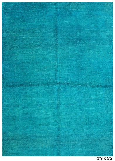 """Hand Knotted Oushak Rug - 3'9"""" x 5'2"""""""