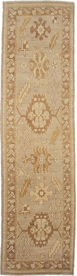 """Hand Knotted Runner 3'2"""" x 12'0"""""""