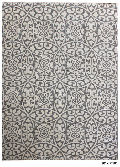 """Hand Knotted Gabbeh Rug - 7'10"""" x 10'0"""""""