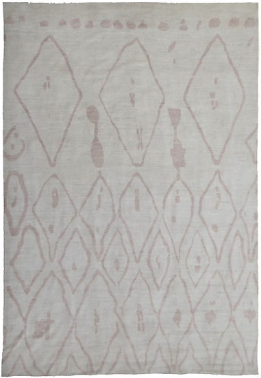 "Hand Knotted Moroccan Rug  - 13'5"" X 9'6"""