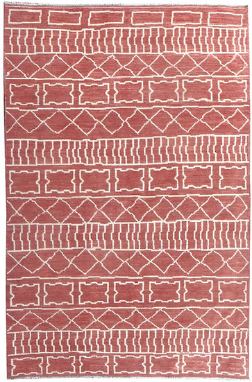 "Hand Knotted Gabbeh Rug - 5'5"" x 9'3"""