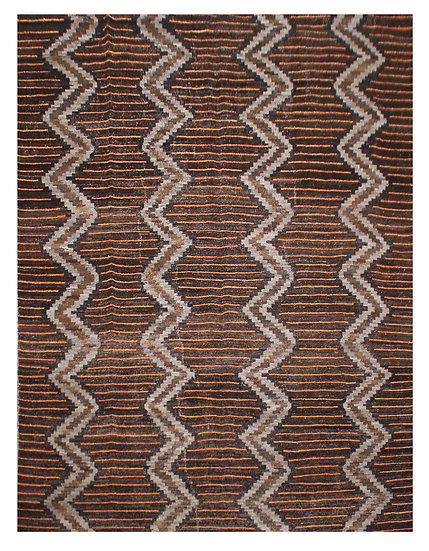 "Hand Knotted Navajo Rug - 9'0"" x 12'0"""