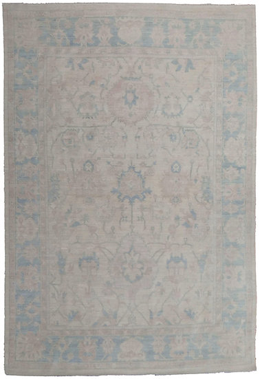 """Hand Knotted Fine Oushak Rug  - 12'5"""" X 9'0"""""""