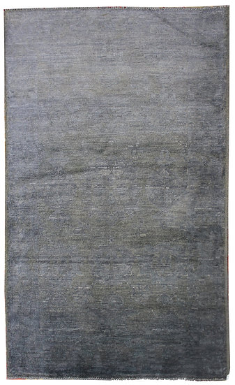 "Hand Knotted Oushak Rug - 3'11"" x 6'1"""