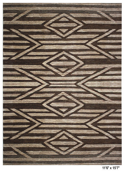 "Hand Knotted Navajo Rug 11'6"" x 15'7"""