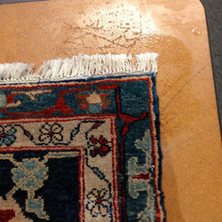 Finished, Repaired rug!