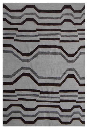 """Hand Knotted Navajo Rug - 9'7"""" x 13'7"""""""