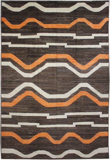 "Hand Knotted Navajo 9'10"" x 13'0"""