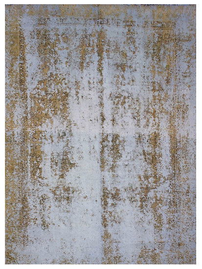 """Hand Knotted Over Dyed Vintage Tabriz Rug.11'4"""" x 8'9"""""""