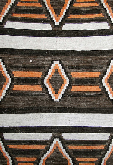Hand Knotted Navajo Rug - 8′4″ × 11′6″