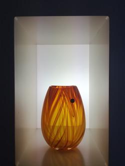 Flaming vase
