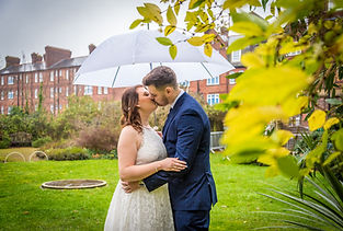 Wedding Photography in the rain Kent