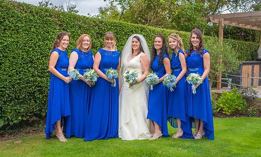 bride and bridesmaids wedding phtoography wedding photographer kent