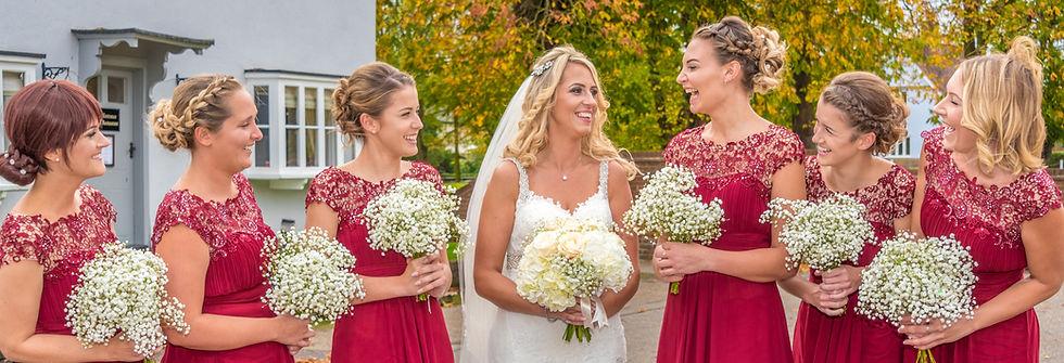 Bride and Bridesmaids Wedding Photography