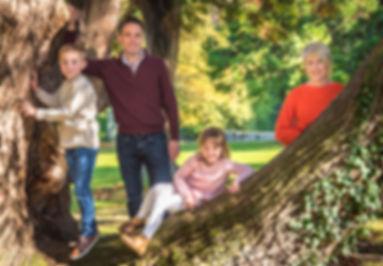 family portrait photo shoot kent