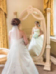 bride in the mirror kent higham wedding