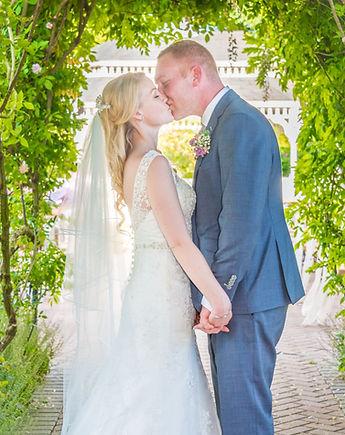 wedding photographer kent bride and groom