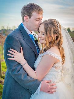 mr and mrs sunset wedding photography