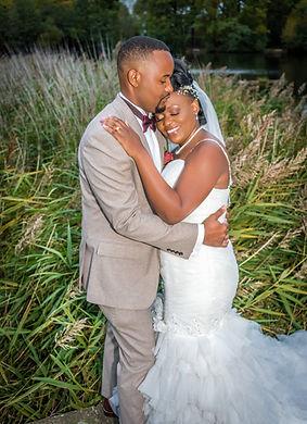 Bride and Groom Wedding Portrait Photography Kent
