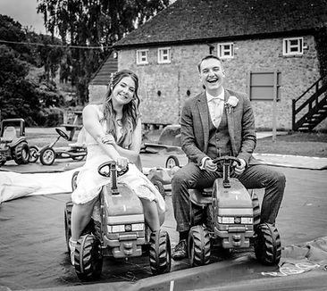 Kent Life Wedding Bride and Groom