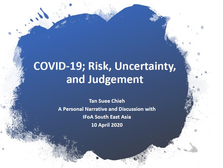 Risk, uncertainty, psychology and judgement