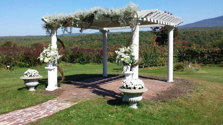 White Flowers on the white pagoda.jpg